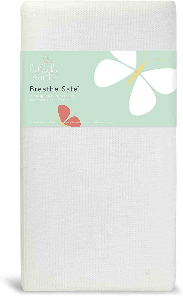 Lullaby Earth Breeze 2-Stage Breathable Crib Mattress