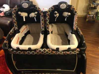 All Round Baby Trend Twin Nursery Center