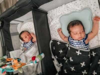 Joovy Room2 Twin Nursery Center
