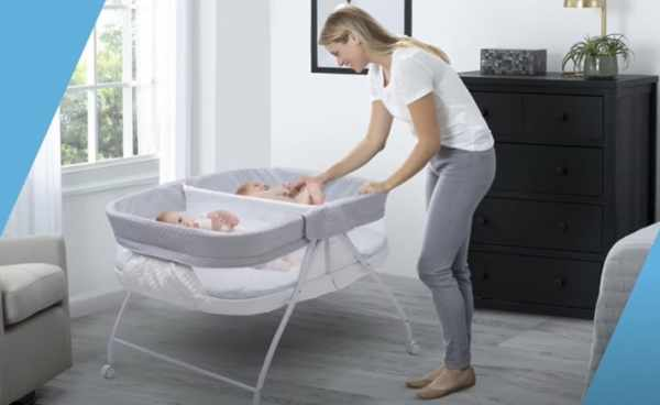 Twin Bassinet security