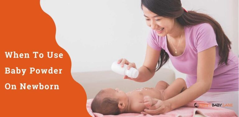 When To Use Baby Powder On Newborn