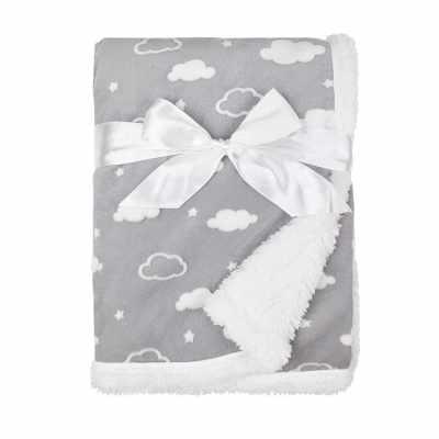 American Baby Company Soft Chenille Sherpa