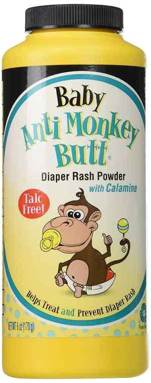 Anti-Monkey Baby Butt Powder