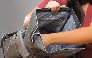 Keababy Modern Diaper Backpack large opening