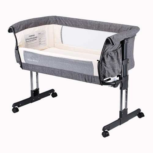 Mika Micky Bedside Sleeper Bedside Crib Easy Folding Bassinet