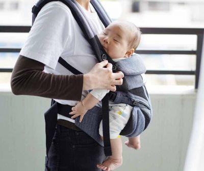 Baby carrier Weight range